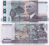 Cambodia - 10000 Riels 2015 Pick 67 UNC Ukr-OP - Cambodia