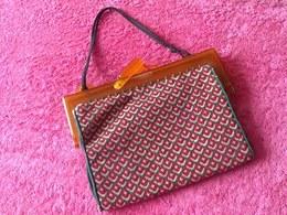Pochette De Dame En Tapisserie Vintage - Purses & Bags