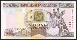 TANZANIA P32a 5000 SHILLINGS 1997   XF-AU - Tanzanie