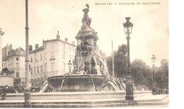 Bruxelles - CPA - Brussel - Fontaine De Brouckère - Places, Squares