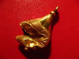Bijou Peut-être Antique En Or à Identifier 3792 - Ohrringe