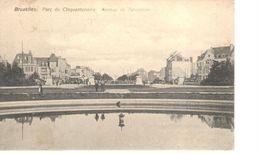 Bruxelles - CPA - Brussel - Parc Du Cinquantenaire - Avenue De Tervuren - Bossen, Parken, Tuinen