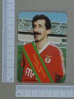 BENFICA   1990 - CHALANA - FUTEBOL -  2 SCANS  - (Nº10710) - Kalender