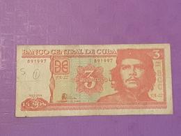 Cuba 3 Pesos 2004 P125 Circule - Cuba