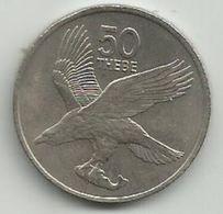 Botswana 50 Thebe 1977. - Botswana