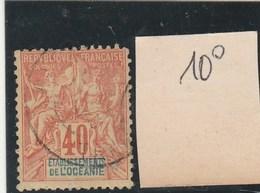 Océanie - Yvert N° 10 Oblitéré - 2 Scan - Oceanía (1892-1958)