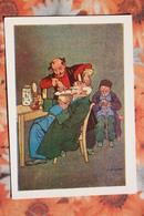 "Georgian Types. Hairdresser / Barber - Georgia - OLD Postcard - Oscar Schmerling ""Old Tbilisi""  - 1960s - Georgia"