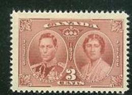 CANADA, 1937, Mint Neverhinged Stamp(s), Coronation George VI, Michel 203, M2296 - 1937-1952 Reign Of George VI
