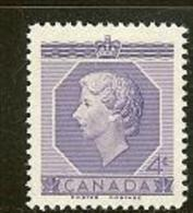 CANADA, 1953, Mint Never Hinged Stamp(s), QE II, Michel 282, M5423 - 1952-.... Reign Of Elizabeth II