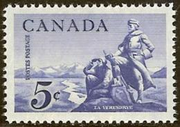 CANADA, 1958, Mint Never Hinged Stamp(s), La Verendrye Statue,  Michel 325, M5462 - 1952-.... Reign Of Elizabeth II