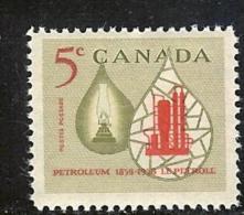 CANADA, 1958, Mint Never Hinged Stamp(s), Petroleum,  Michel 328, M5468 - 1952-.... Reign Of Elizabeth II