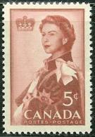 CANADA, 1959, Mint Never Hinged Stamp(s), Royal Visit,  Michel 333, M5478 - 1952-.... Reign Of Elizabeth II