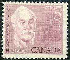 CANADA, 1963, Mint Never Hinged Stamp(s), Casimir Gzowski,  Michel 353, M5510 - 1952-.... Reign Of Elizabeth II