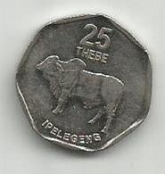 Botswana 25 Thebe 1998. - Botswana