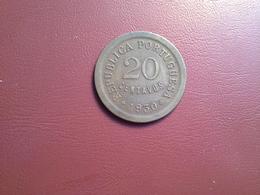 Portugal Colonia Cabo Verde 20 Centavos 1930 - Portugal