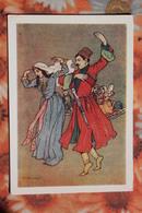 "Kartuli Folk Dance - Georgia - OLD Postcard - Oscar Schmerling ""Old Tbilisi""  - 1960s - Georgia"