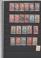 Soudan - Lot  22 Timbres - Tous états - Sudan (1894-1902)