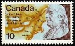 CANADA, 1976, Mint Never Hinged Stamp(s), Benjamin Frnklin,  Michel 627, M5653 - 1952-.... Reign Of Elizabeth II
