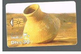 EMIRATI ARABI UNITI (UNITED ARAB EMIRATES)  -1997 LARGE EARTHENWARE JAR    - USED - RIF.  10446 - United Arab Emirates