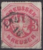 Mi-Nr. 24, Farbfrisch, Gut Durchstochen, O - Preussen