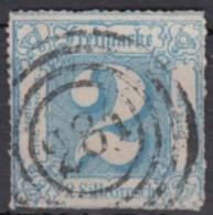 """Mi-Nr. 39, Zentr. """"281"""", Arnstadt, Marke Unten Scherentrennung, O - Thurn Und Taxis"""
