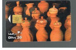 EMIRATI ARABI UNITI (UNITED ARAB EMIRATES)  -1998  EARTHENWARE JARS    - USED - RIF.  10447 - United Arab Emirates
