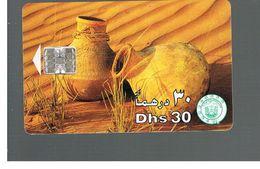 EMIRATI ARABI UNITI (UNITED ARAB EMIRATES)  -1998  EARTHENWARE POTS    - USED - RIF.  10447 - United Arab Emirates