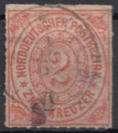 Mi-Nr. 8, Gesuchter Einzelwert, O - Norddeutscher Postbezirk