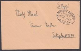 """Bahnpost, """"Chemnitz- Neuhausen"""", Feldpost, 1943 - Deutschland"""