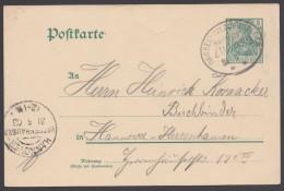 """Bahnpost, """"Dassel- Salzderhelden"""", Bedardf, 31.05.03 - Briefe U. Dokumente"""