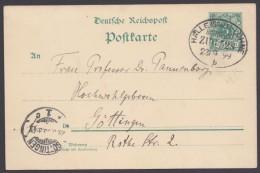 "Bahnpost, ""Halle(Saale)- Löhne"", Bedarf 23.9.99 - Deutschland"