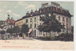 Brugg - Hotel Central - Animiert - 1903         (P-132-41224) - AG Aargau