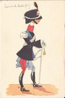 Carabinieri Di Aosta - Illustrazione - Regimientos
