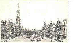 Bruxelles - CPA - Brussel - Hôtel De Ville Et Grand'Place - Places, Squares