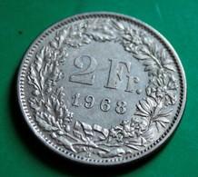 2 Francs Suisse 1968 - Suisse