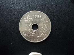 DANEMARK : 25 ORE  1985 (h) R ; B   KM 861.3     SUP+ - Denmark