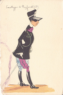 Carabinieri Di Monferrato - Illustrazione - Regimientos