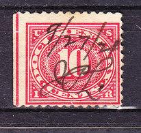 USA, Gebuehrenmarke, 10 Cent (49340) - Gebührenstempel, Impoststempel