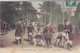78-----forêt De RAMBOUILLET--a La Croix Pater--avant Le Départ---voir 2 Scans - Rambouillet