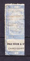 Aegypten, Zigarettensteuer, Bigio Hazan Cairo (49345) - Gebührenstempel, Impoststempel
