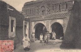CARTE TUNISIE. 1910. TOZEUR REGENCE DE  TUNIS POUR LA FRANCE - Tunisia (1888-1955)