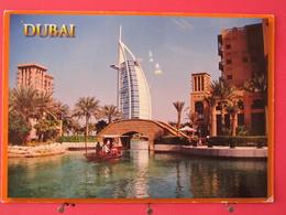 Emirats Arabes Unis - Dubai - Madinat Jumeriah And View Of Burj Al Arab - Joli Timbre - Scans Recto-verso - Emirats Arabes Unis