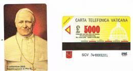 VATICANO-VATICAN-VATICAN CITY  CAT. C&C   6074 - SETTEMBRE 2000- BEATIFICAZIONE DI PAPA  PIO IX - Vatican