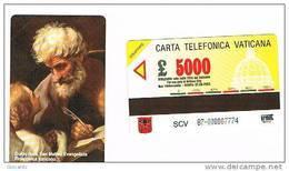 VATICANO-VATICAN-VATICAN CITY  CAT. C&C   6087 -  GUIDO RENI. SAN MATTEO EVANGELISTA - Vatican