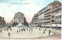 Bruxelles - CPA - Brussel - Place De Brouckère - Places, Squares