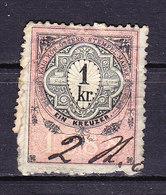 Oesterreich, Stempelmarke, 1 Krone (49348) - Gebührenstempel, Impoststempel
