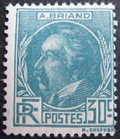 LOT FD/1575 - 1933 - A. BRIAND - N°291 NEUF** - Cote : 42,00 € - France