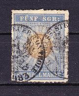 Preussen, Stempelmarke, 5 Silbergroschen (49350) - Gebührenstempel, Impoststempel