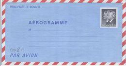 G081 - Monaco - Aérogramme à 2.70 F Albert Et Rainier - Neuf - Entiers Postaux