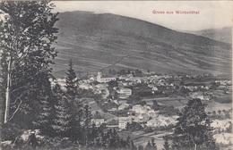 Gruss Aus WÜRBENTHAL (Sudeten) - Karte Gel.1909? V.Würbenthal Nach Kgl.Weinberge Bei Prag, Gute Erhaltung - Sudeten